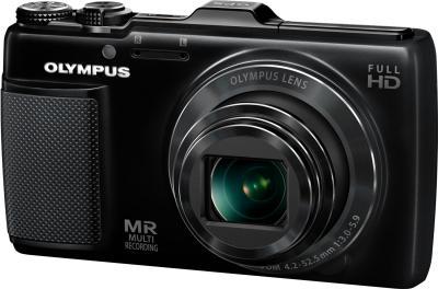 Компактный фотоаппарат Olympus SH-25MR Black - общий вид
