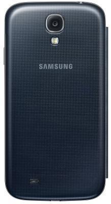 Чехол-книжка для Samsung I9500 Samsung EF-CI950BBEGRU Black - вид сзади