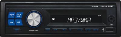 Бездисковая автомагнитола Alpine UTE-32 - общий вид