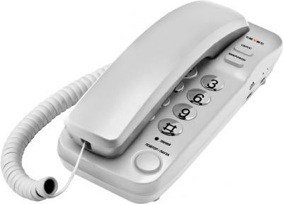 Проводной телефон TeXet TX-226 Light Grey - общий вид