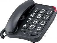 Проводной телефон TeXet TX-201 Black -
