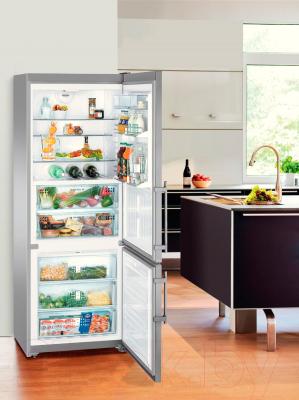 Холодильник с морозильником Liebherr CBNPes 5156
