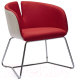 Кресло Halmar Pivot (белый/красный) -