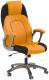 Кресло офисное Halmar Viper (черно-оранжевый) -