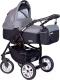 Детская универсальная коляска Riko Satino 2 в 1 (carbon) -