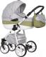 Детская универсальная коляска Riko Nano Ecco 2 в 1 (01/olive) -