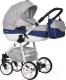 Детская универсальная коляска Riko Nano Ecco 2 в 1 (03/denim) -