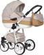 Детская универсальная коляска Riko Nano Ecco 2 в 1 (05/caramel) -