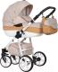 Детская универсальная коляска Riko Nano Ecco 3 в 1 (05/caramel) -
