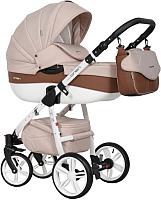 Детская универсальная коляска Riko Nano Ecco 3 в 1 (06/mocca) -