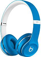 Наушники-гарнитура Beats Solo2 Luxe Edition / ML9F2ZM/A (голубой) -