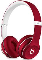 Наушники-гарнитура Beats Solo2 Luxe Edition / ML9G2ZM/A (красный) -