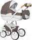 Детская универсальная коляска Riko Brano Luxe 3 в 1 (01/mocca) -