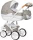 Детская универсальная коляска Riko Brano Luxe 3 в 1 (02/latte) -