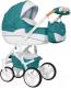Детская универсальная коляска Riko Brano Luxe 3 в 1 (03/malachit) -