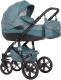 Детская универсальная коляска Riko Brano Natural 3 в 1 (02/adriatic) -