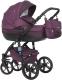 Детская универсальная коляска Riko Brano Natural 3 в 1 (03/purple) -