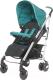 Детская прогулочная коляска 4Baby Croxx 2017 (темно-бирюзовый) -