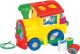 Развивающая игрушка Полесье Занимательный паровоз 6189 -