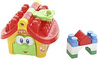 Развивающая игрушка Полесье Логический домик. Маленький строитель / 9646 (в сеточке) -