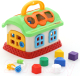 Развивающая игрушка Полесье Сказочный домик / 48745 (в сеточке) -