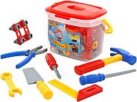 Детский набор инструментов Полесье Набор инструментов №1 47151 (72эл) -
