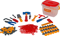 Детский набор инструментов Полесье Набор инструментов №3 47175 (132эл) -