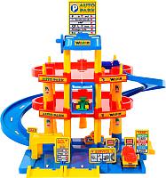 Детский паркинг Полесье 3-уровневый с автомобилями 37893 -