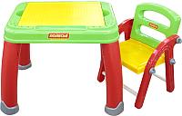 Стол+стул Полесье Набор дошкольника №2 / 43023 (в коробке) -