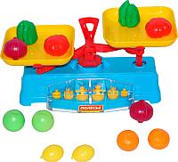 Игровой набор Полесье Весы + набор продуктов 53787 (12эл) -