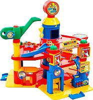 Детский паркинг Полесье 4-уровневый с автомобилями 37855 -