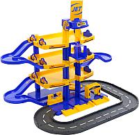 Детский паркинг Полесье Jet 4-уровневый с дорогой 40220 -