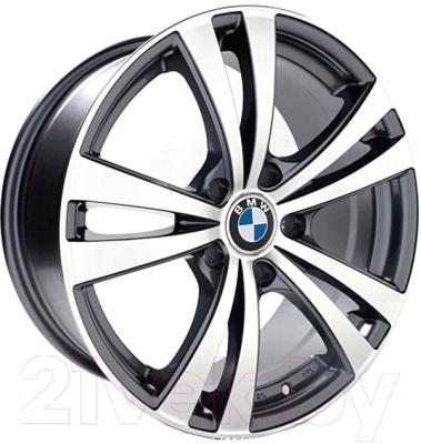"Литой диск Replay BMW B92mg 18x8"" 5x120мм DIA 72.6мм ET 20мм GMF"