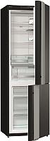 Холодильник с морозильником Gorenje NRK612ORAB -