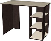 Письменный стол Мебель-Класс Имидж-1 (венге/дуб шамони) -