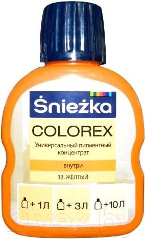 Колеровочный краситель Sniezkа