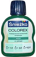 Колеровочный краситель Sniezkа Colorex 41 (100мл, зеленый) -