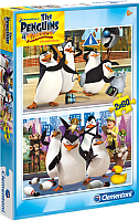 Набор пазлов Clementoni Пингвины Мадагаскара 07129 (2x60эл) -