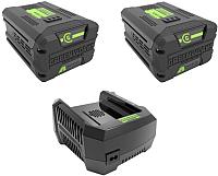 Зарядное устройство для электроинструмента Greenworks Start (+ 2 АКБ) -