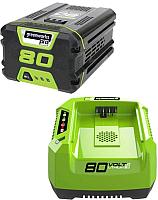 Зарядное устройство для электроинструмента Greenworks Lux (+ АКБ) -