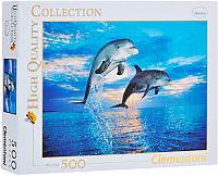Пазл Clementoni Дельфины 30139 (500эл) -