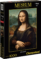 Пазл Clementoni Леонардо да Винчи. Мона Лиза 31413 (1000эл) -