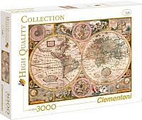 Пазл Clementoni Старая карта 33531 (3000эл) -