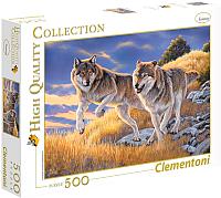 Пазл Clementoni Волки 35033 (500эл) -