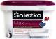 Краска Sniezkа Max White Latex с тефлоном (2.5л, матовый белоснежный) -