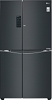 Холодильник с морозильником LG GC-M257UGLB -