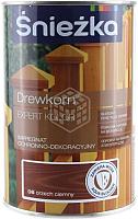 Защитно-декоративный состав Sniezkа Древкорн Expert (0.9л, темный орех) -