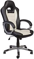 Кресло офисное Седия Mars Eco (черный/кремовый) -