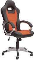 Кресло офисное Седия Mars Eco (черный/оранжевый) -
