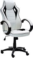 Кресло офисное Calviano XRacer RS 595 (бело/черный) -